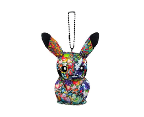 Shibuya Exclusive Pikachu Graffiti Keychain