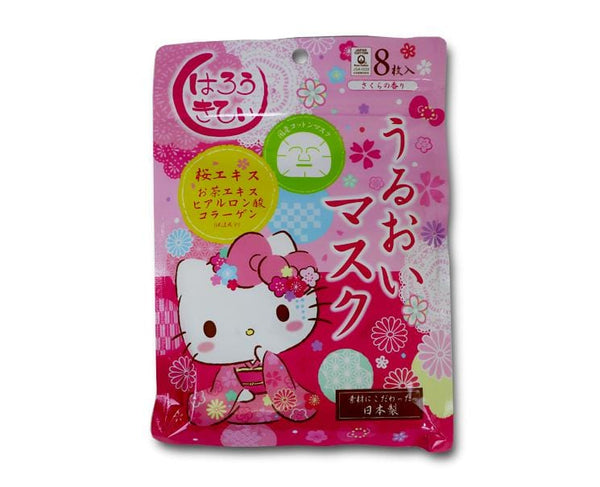 Hello Kitty Rich Moisturizing Masks Sakura