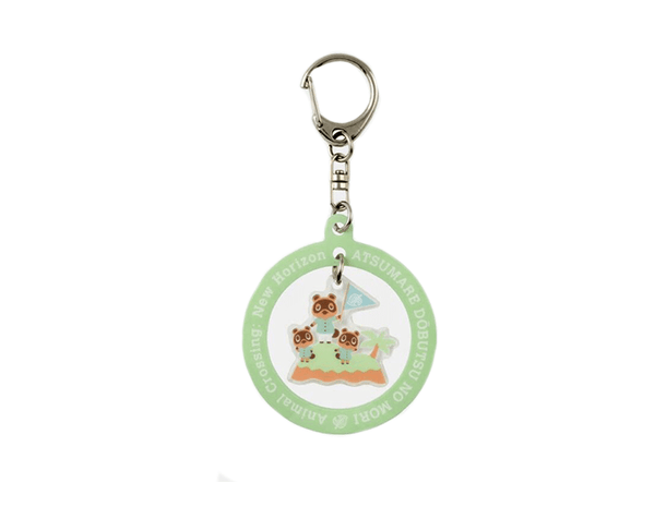 Animal Crossing Tom Nook Keychain