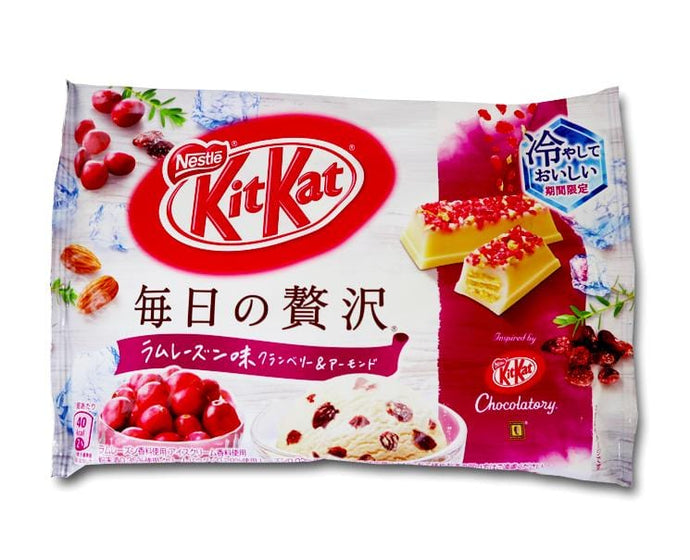 Kit Kat: Everyday Luxury (Rum Raisin, Cranberry and Almond)
