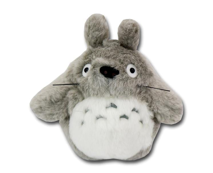 Totoro S-size Plush (light gray)