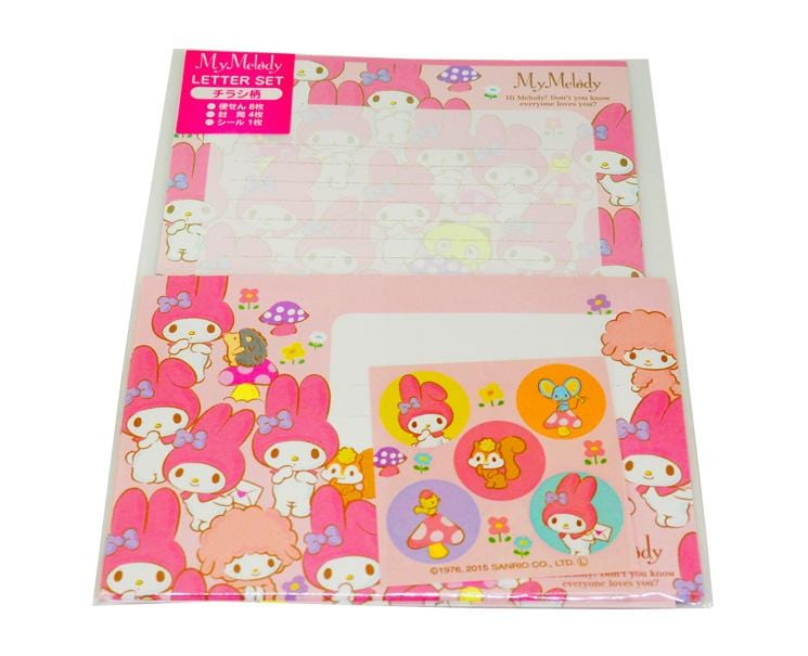My Melody Letter Set