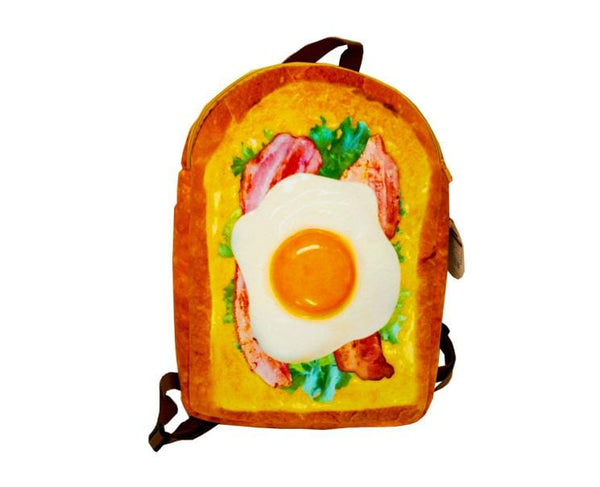 Marude Pan Backpack Bacon Lettuce Egg