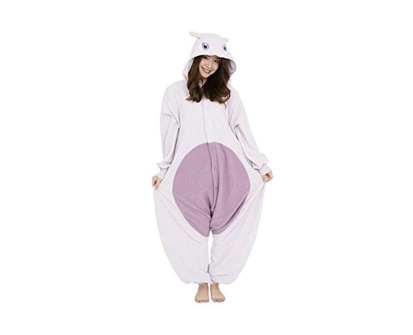 Mewtwo Fleece Kigurumi Costume