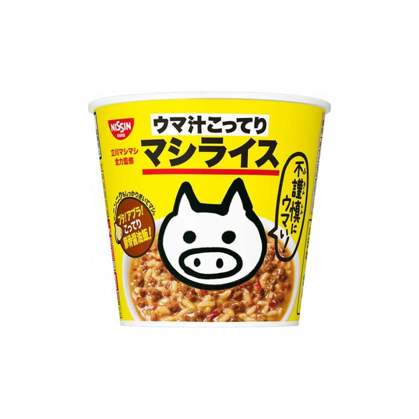 Nissin Rice Pork And Garlic Soup
