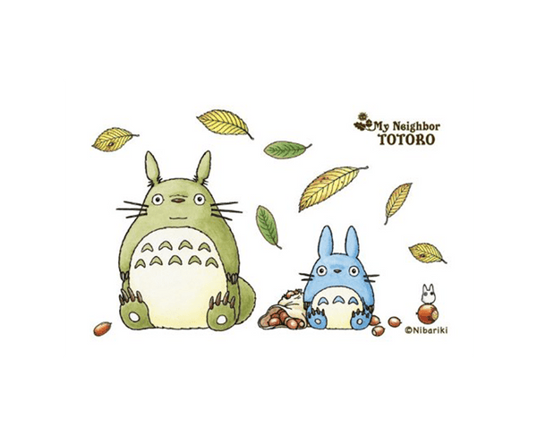 150 Piece Jigsaw Puzzle My Neighbor Totoro Collage Art Series 2 Fall Leaf Season Mini Puzzle