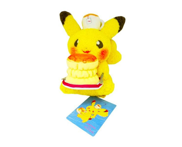 Pikachu Plushie Tea And Pancakes