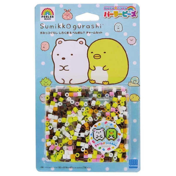 sumikko gurashi shirokuma beads penguin set in white background