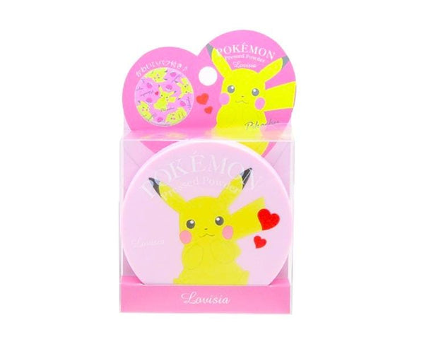 Pokemon Pressed Powder Makeup Pink Pikachu