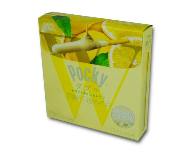 Pocky Double White Chocolate And Lemon