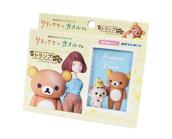 Rilakkuma And Kaoru Playing Cards