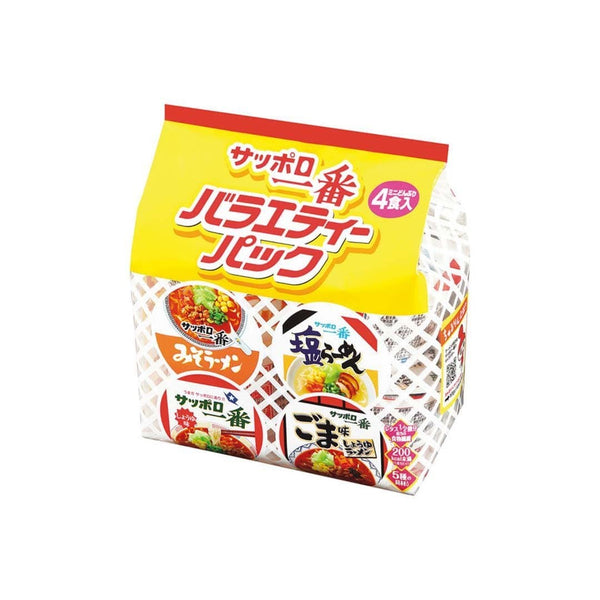 sapporo ichiban mini bowl variety pack white background