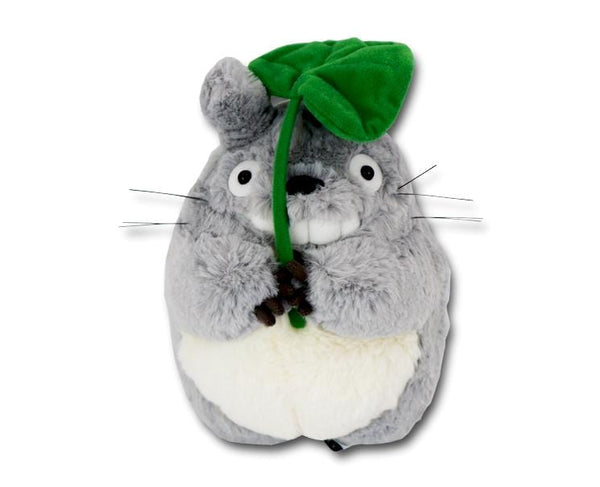 Totoro With Leaf Large Plush