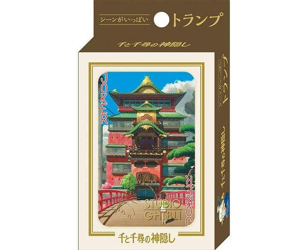 Spirited Away Scenes Playing Cards