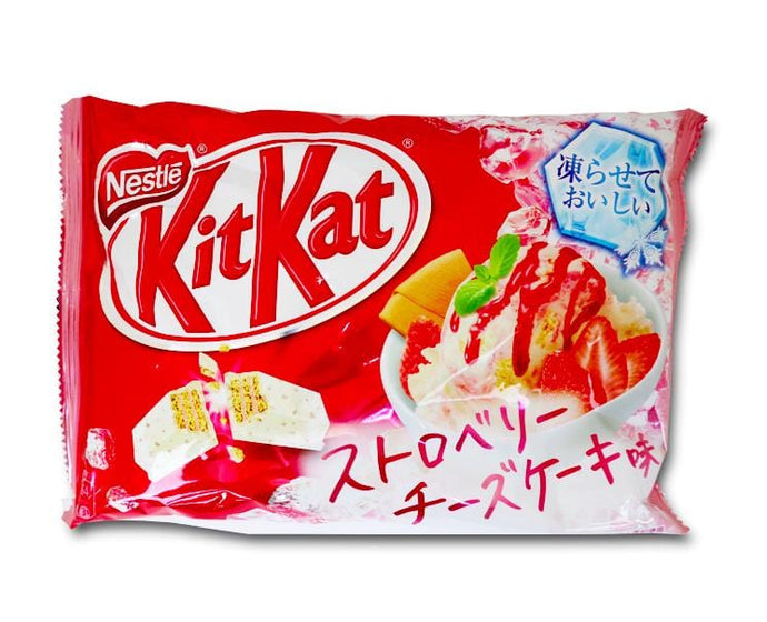 Kit Kat: Frozen Strawberry Cheesecake Flavor