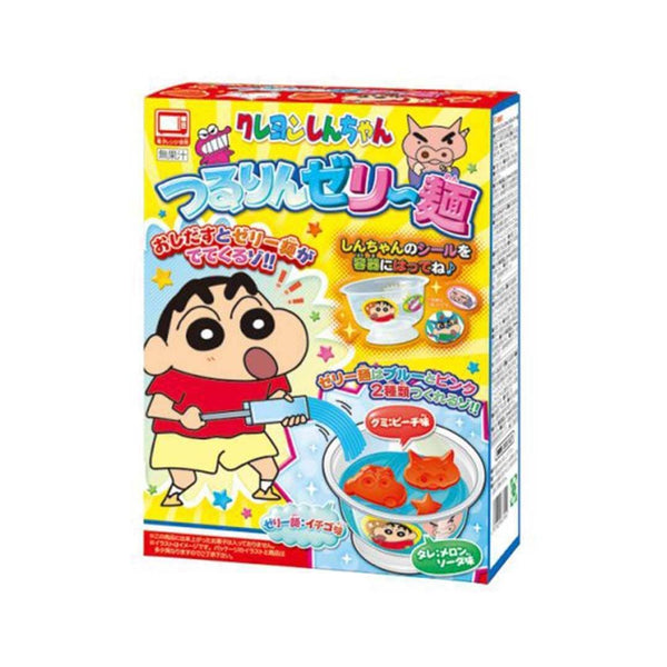 tsururin jelly noodle kit crayon shinchan anime cartoon character in white background