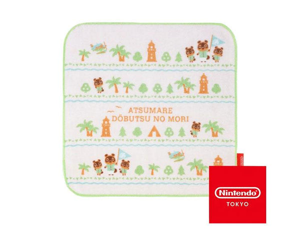 Animal Crossing Square Hand Towel