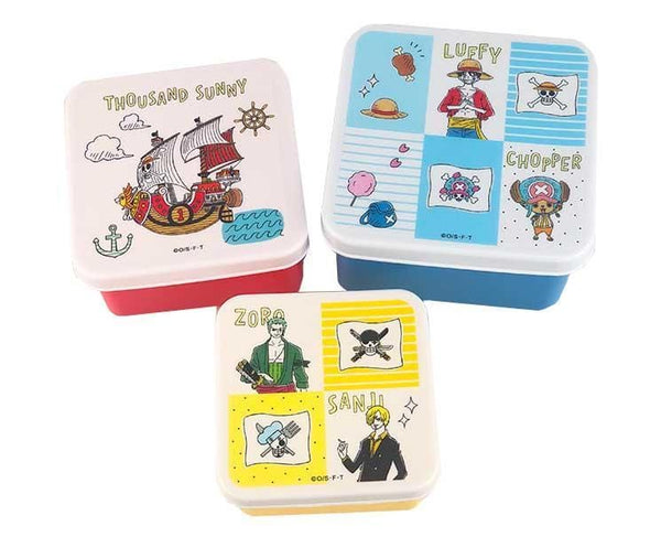 One Piece Kids Bento 3-Piece Set