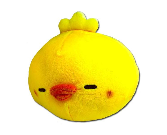 Mochifuwa Piyomaru Chicken Plush (Yellow)