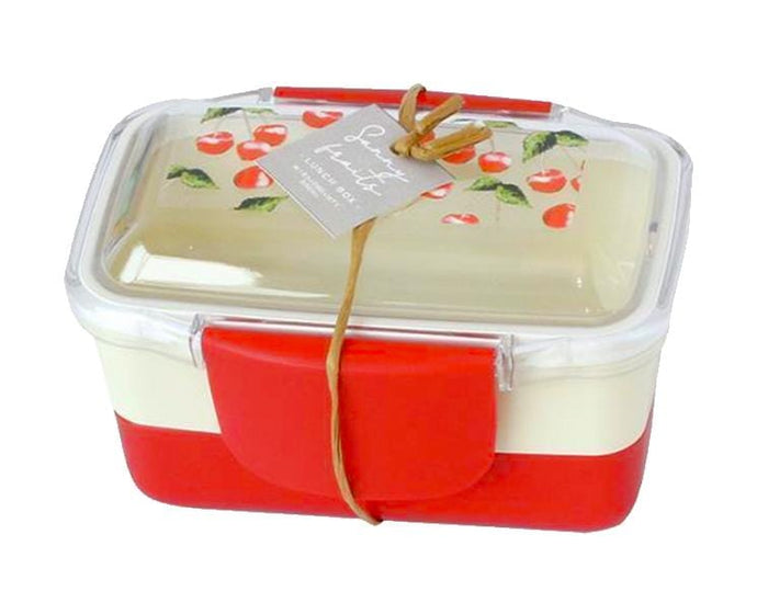 Sunny Fruits 2-Layer Red 560ml Bento