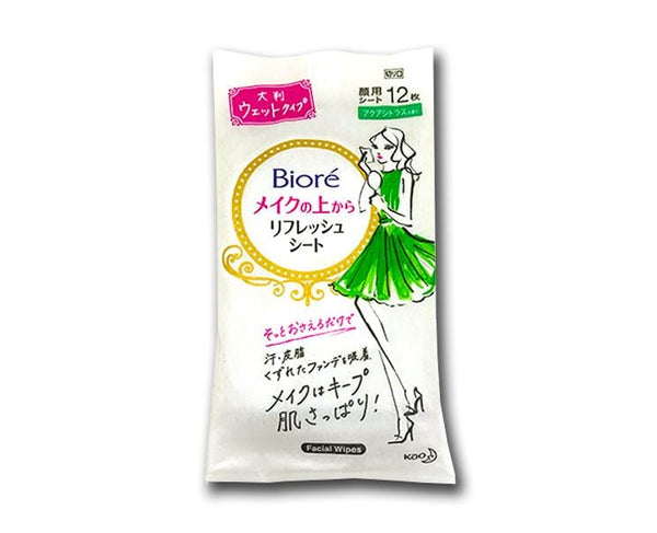 Biore Face Refresh Sheet