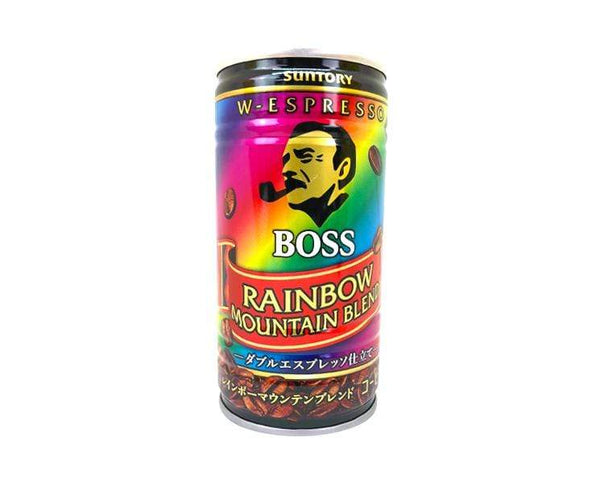 Boss Rainbow Canned Coffee