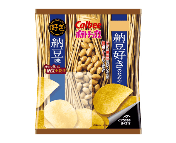 Calbee Potato Chips Natto