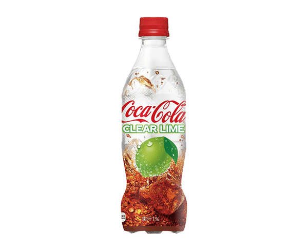 Coca Cola: Clear Lime