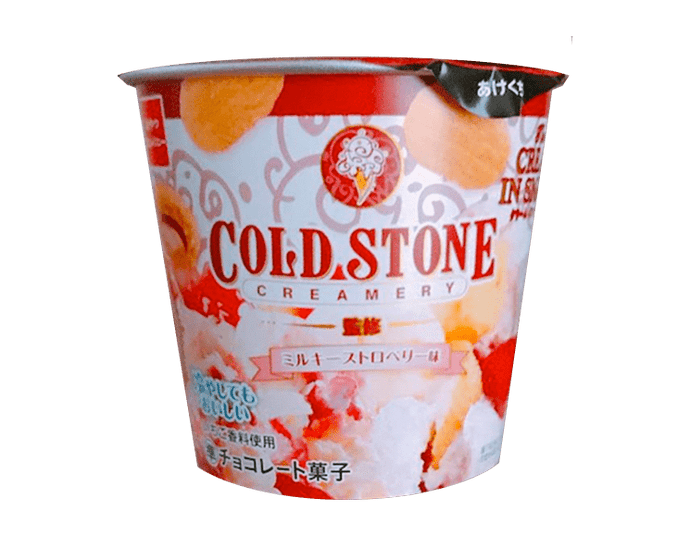 Cold Stone Creamery: Milky Strawberry Creamy Snacks