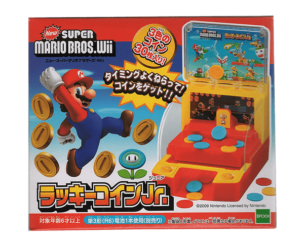 Super Mario Bros Lucky Coin Jr