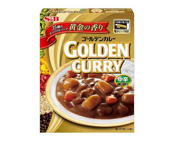 S B Golden Instant Curry