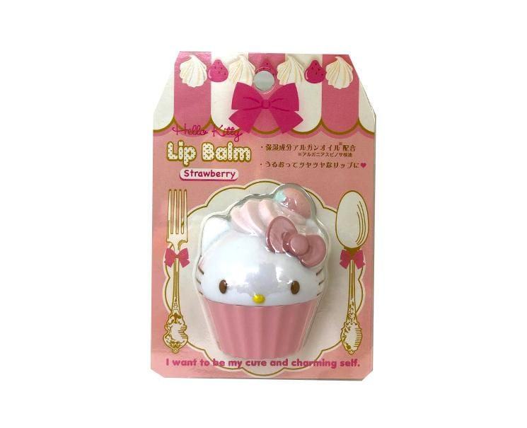 Hello Kitty Lip Balm: Strawberry