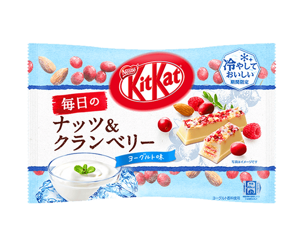 Kit Kat Nuts And Cranberry Yogurt Flavor