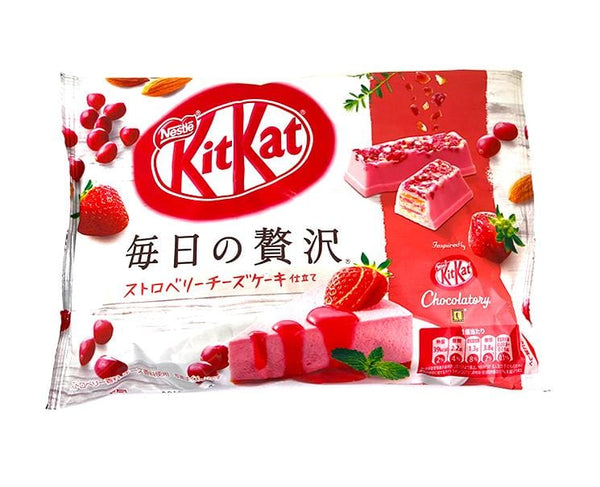 Kit Kat Everyday Luxury Strawberry Cheesecake