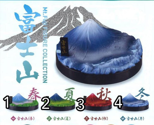 Mt Fuji Figure Collection