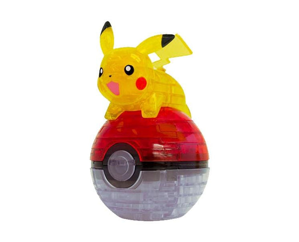 Pikachu and Pokeball 3D Jigsaw Puzzle