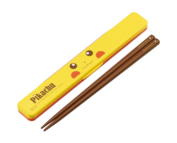 Pikachu Chopsticks And Case Set