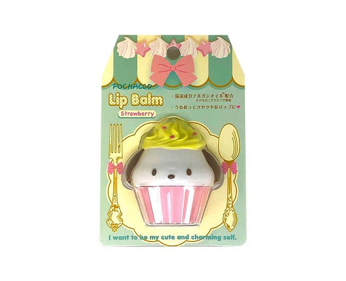 Pochacco Lip Balm: Strawberry