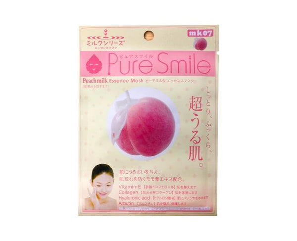 Pure Smile Peach Milk Sheet Mask