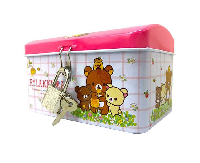 Rilakkuma Can Bank (Pink)
