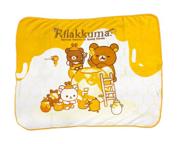 Rilakkuma Honey Forest Lap Blanket