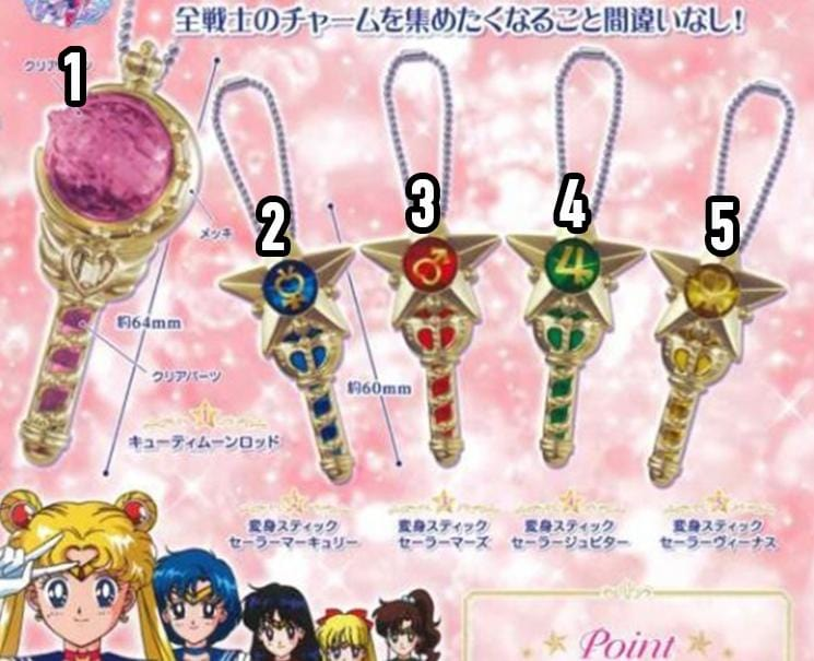Sailor Moon Prism Crystal Wands