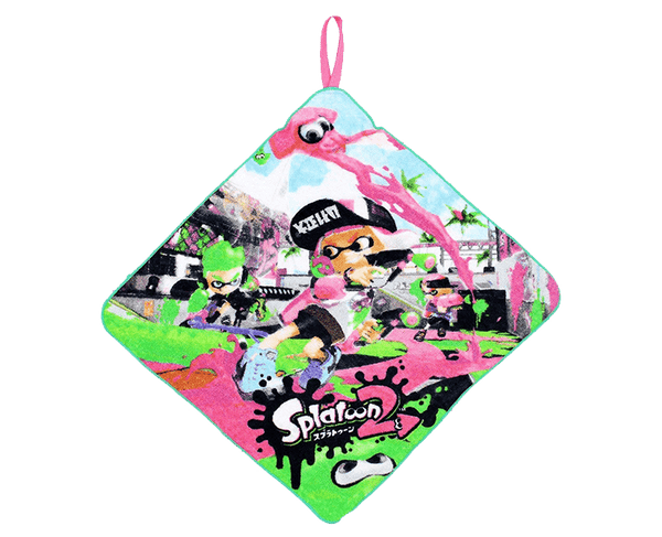Splatoon 2 Loop Hand Towel