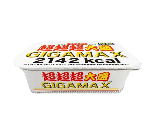 Pey Young Sauce Yakisoba Super Super Super Big Gigamax 439G
