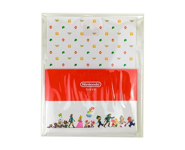 Nintendo Tokyo Collection Character Letter Set