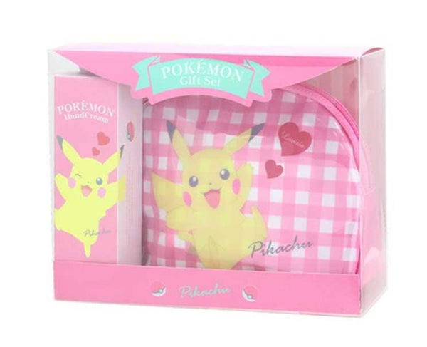 Pokemon Hand Cream and Pouch: Pikachu