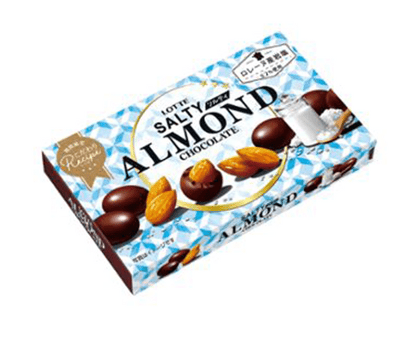 Lotte Salty Almond Chocolate