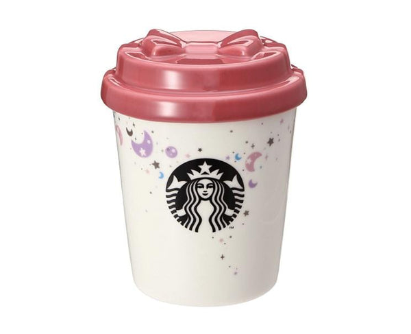 Starbucks Japan Holiday 2019 Canister wtih Ribbon Lid