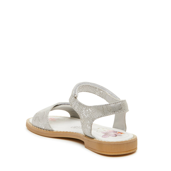 Primigi Girls Silver Leather Sandals