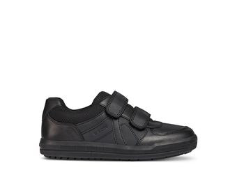 Geox Arzach Boys Leather School Shoe